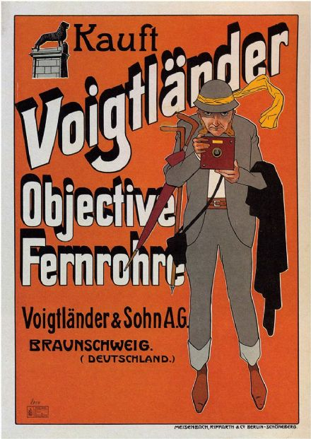 Voigtlander Camera Vintage Advertising Print/Poster (4891)